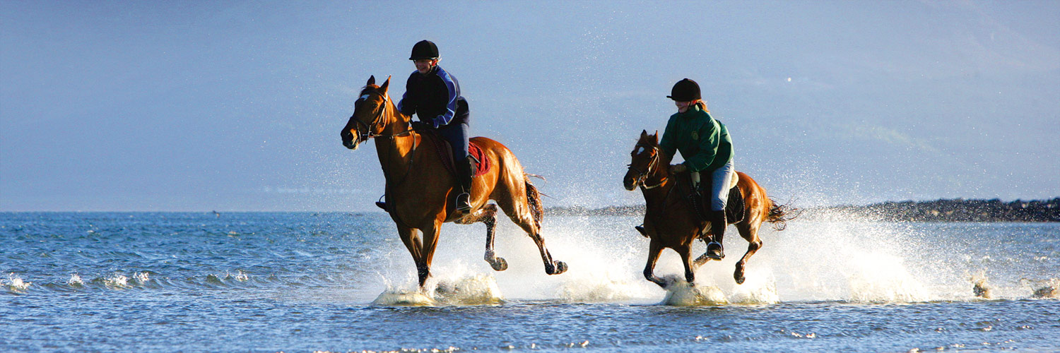 Beach horseriding Kerry