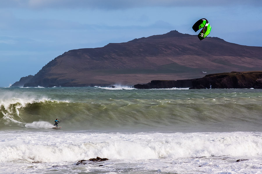 Kitesurfing Brandon Bay