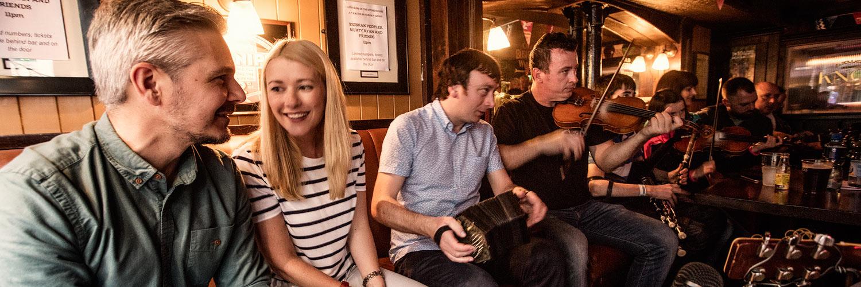 Irish trad music