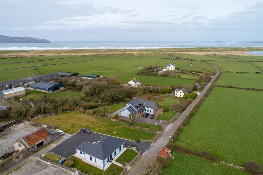 Wild Atlantic Way Cottage aerial