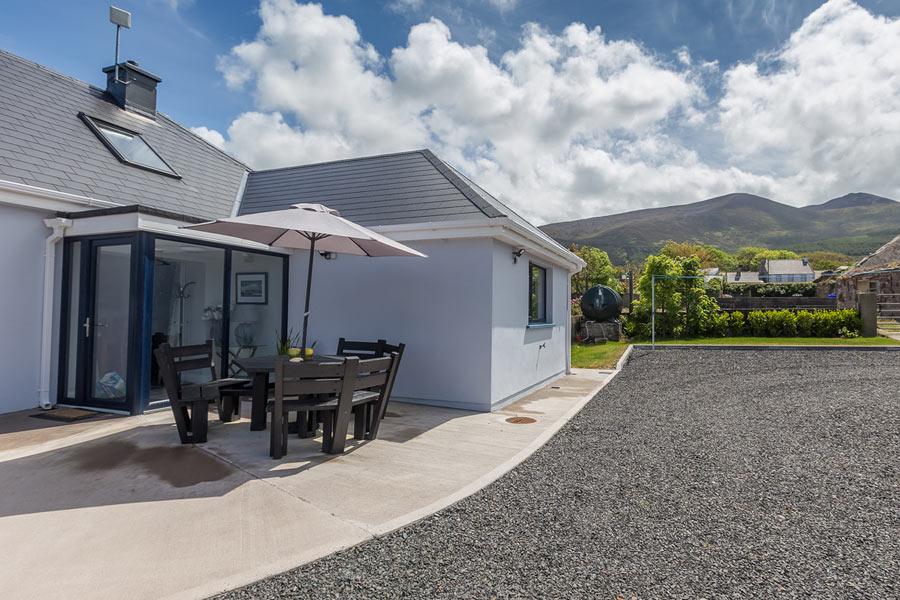 Wild Atlantic Way Cottage patio